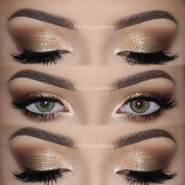 Gold Wedding Makeup Suggestions : Melissa Samways Blog Archive ? Soft Smokey Eyes and Gold ...