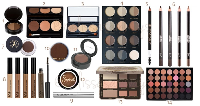 1 - Products Brows - MUA Melissa Samways