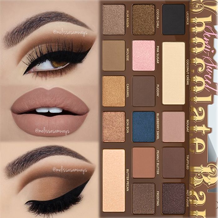 Semi Sweet Chocolate Bar - Cut Crease MUA Melissa Samways