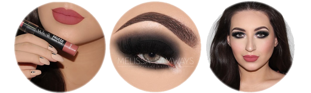 Black Smokey Eye Melissa Samways Makeup Artist
